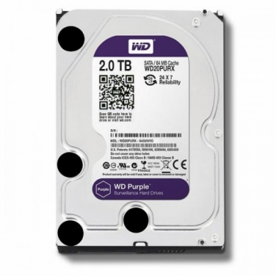 Ổ cứng camera WD Purple 2TB  WD20PURZ: